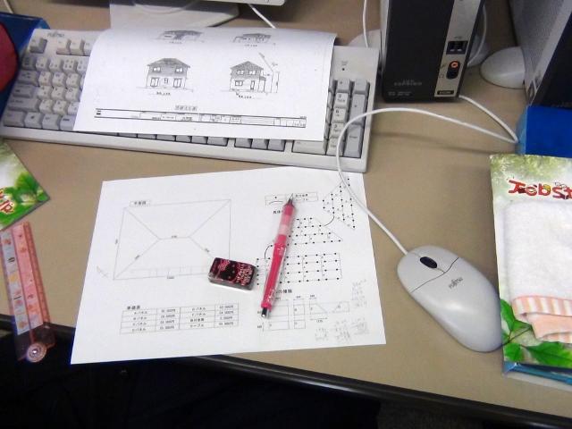ソーラーパネルの設置図作成体験